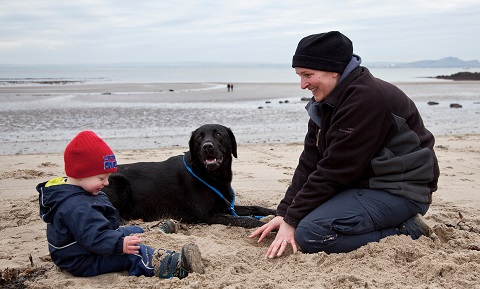 Children and Pets - Infants and Dogs
