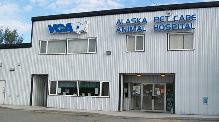 Homepage Hospital Picture of VCA Alaska Pet Care Animal Hospital