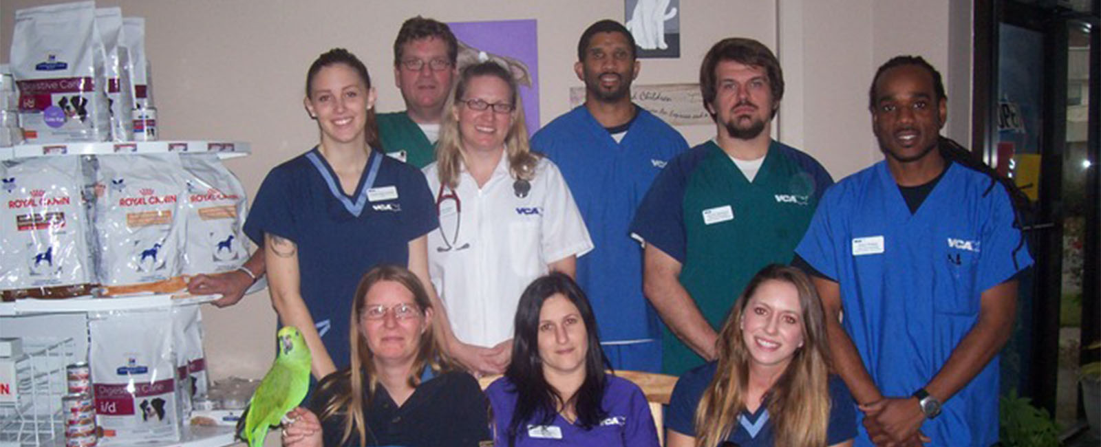 Homepage Team Picture of VCA Animal Care Center