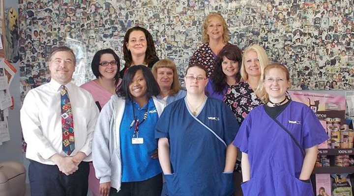Homepage Team Picture of VCA Animal Hospital West