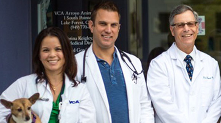 Homepage Team Picture of VCA Arroyo Animal Hospital