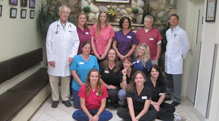 Homepage Team Picture of VCA Asher Animal Hospital