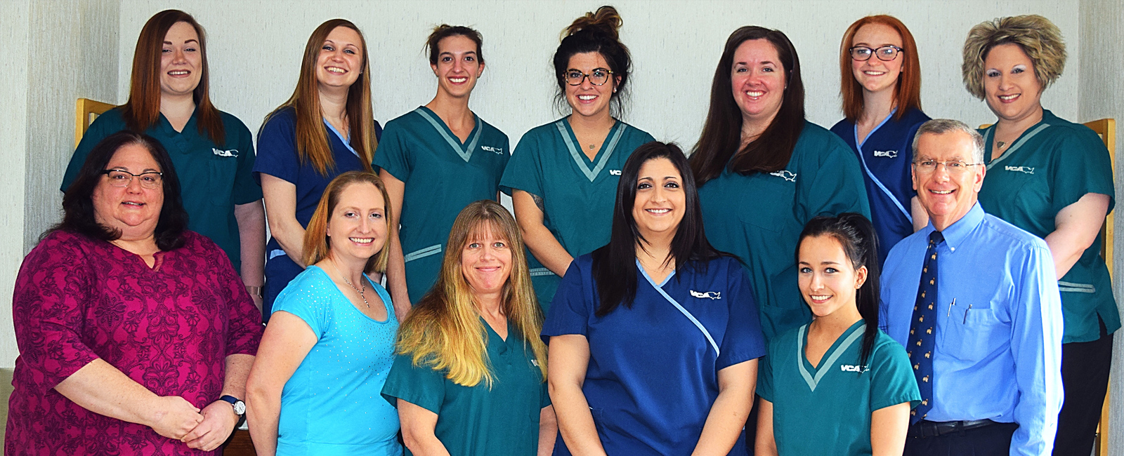 Team Picture of VCA Associates in Pet Care Animal Hospital