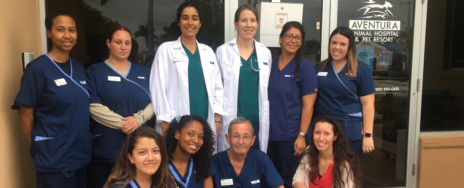 Team Picture of VCA Aventura Animal Hospital
