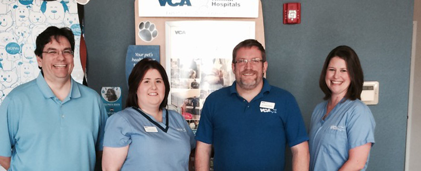 Homepage Team Picture of VCA Bedford Meadows Animal Hospital