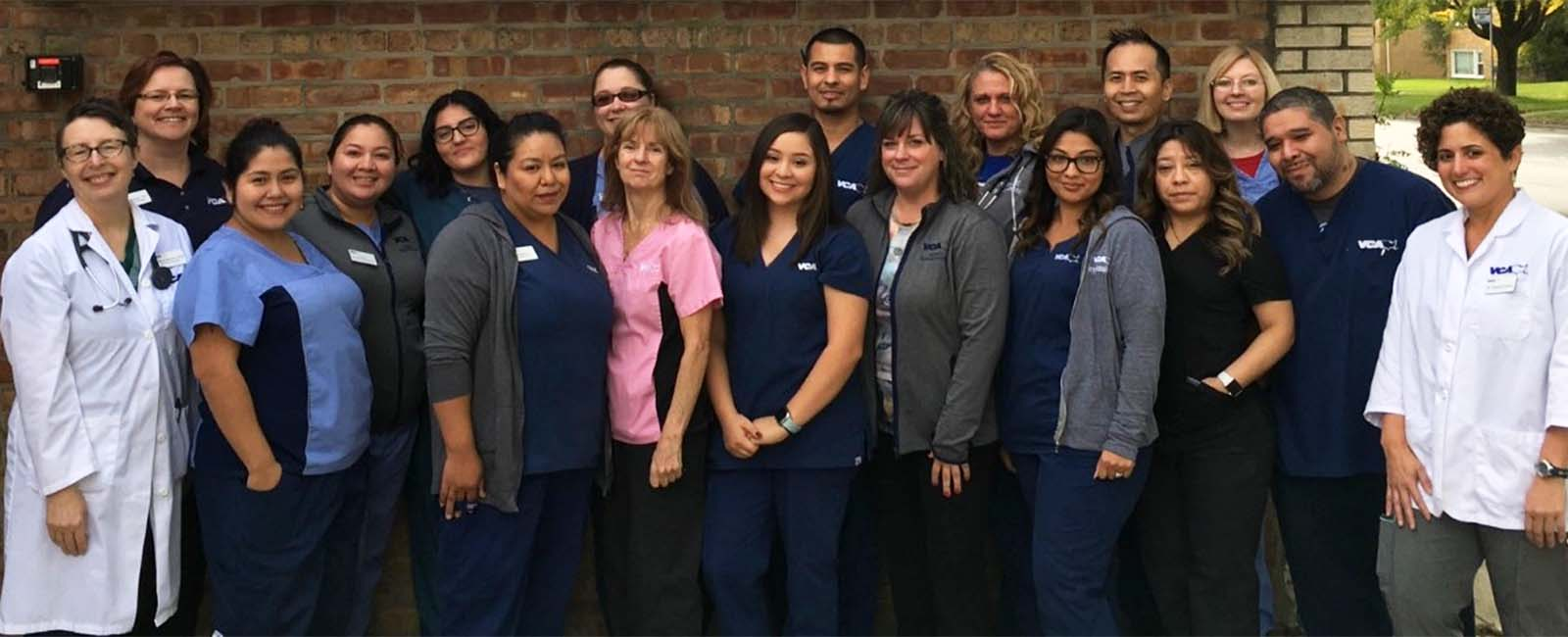 Homepage Team Picture of VCA Berwyn Animal Hospital