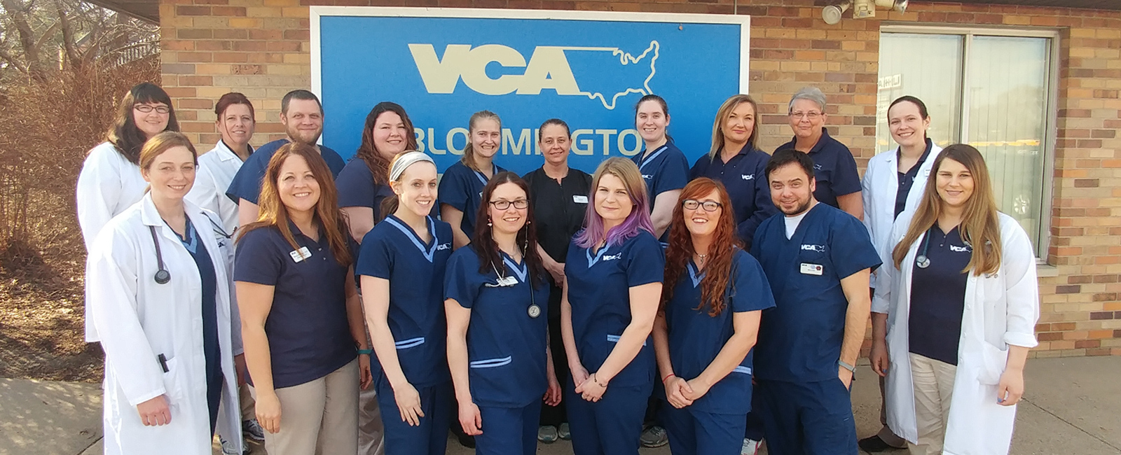 Team Picture of VCA Bloomington Animal Hospital