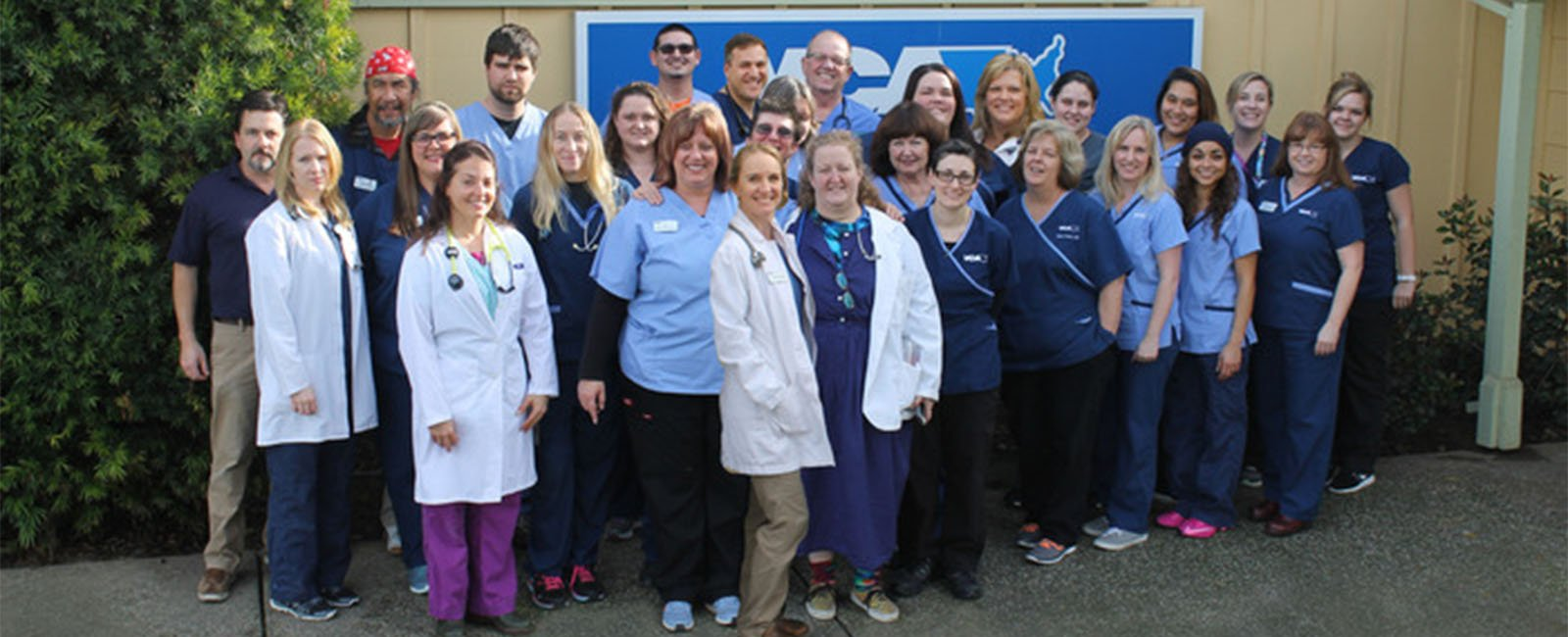 Homepage Team Picture of VCA Bradshaw Animal Hospital