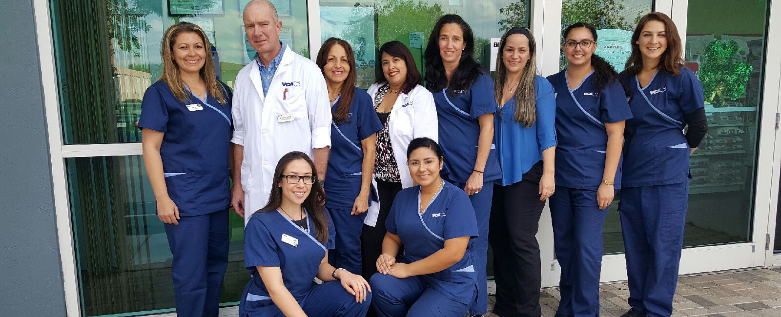 Homepage Team Picture of VCA Cabrera Animal Hospital