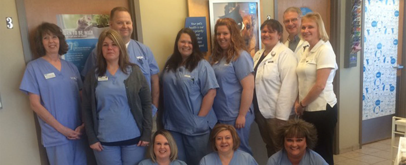 Homepage Team Picture of VCA Carrollton Animal Hospital