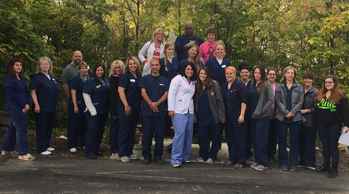 Homepage Team Picture of Castle Shannon Animal Hospital