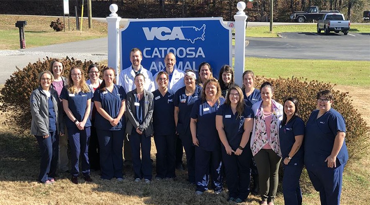 Our Team at VCA Catoosa