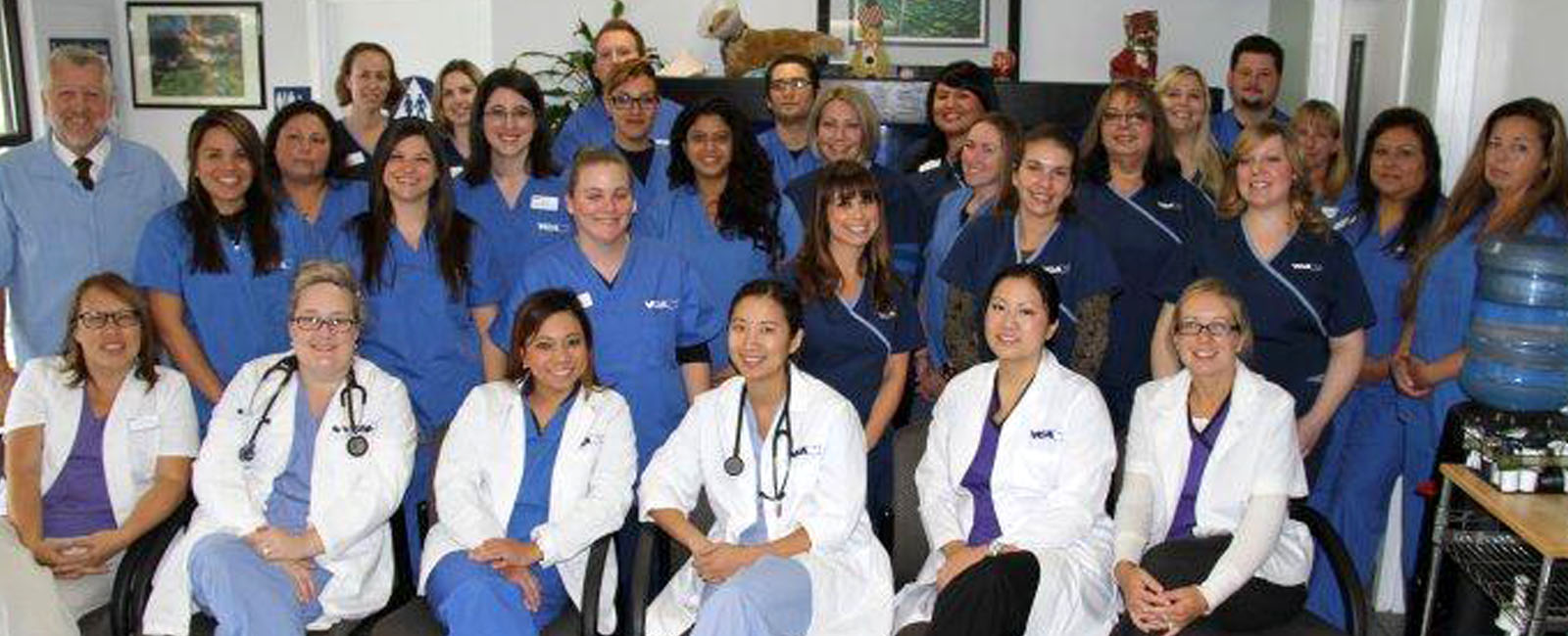 Homepage Team Picture of  VCA Central Animal Hospital