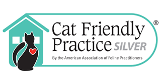 Cat Friendly Practice - Silver logo
