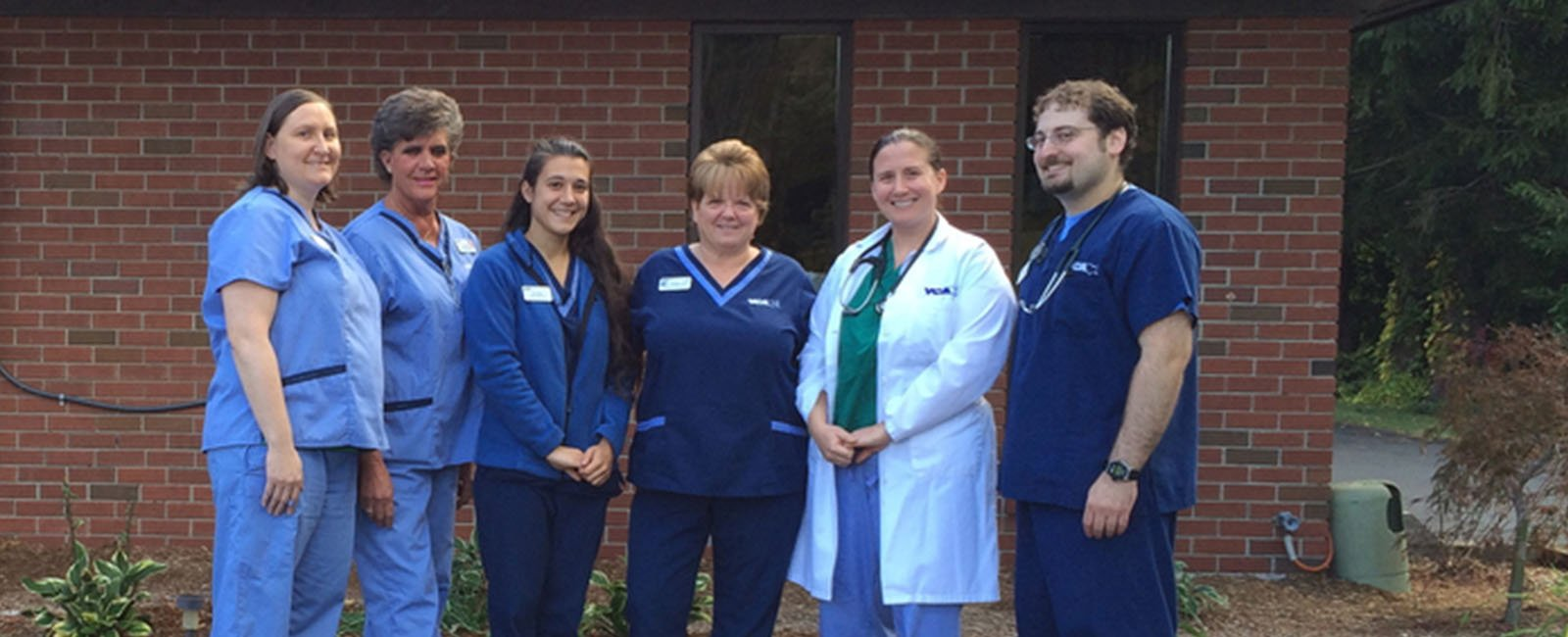 Homepage Team Picture of VCA Cheshire Animal Hospital