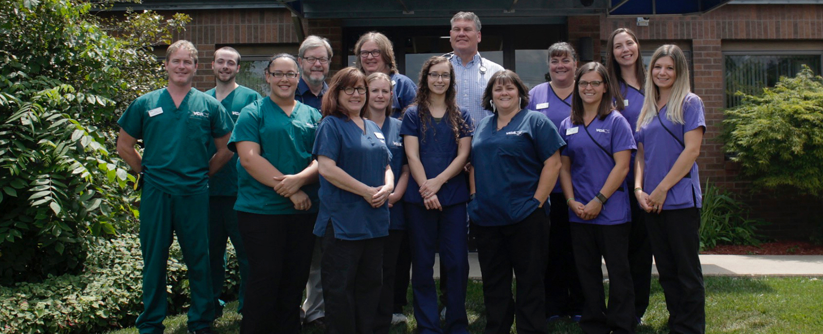 VCA College Hill Animal Hospital Team Photo
