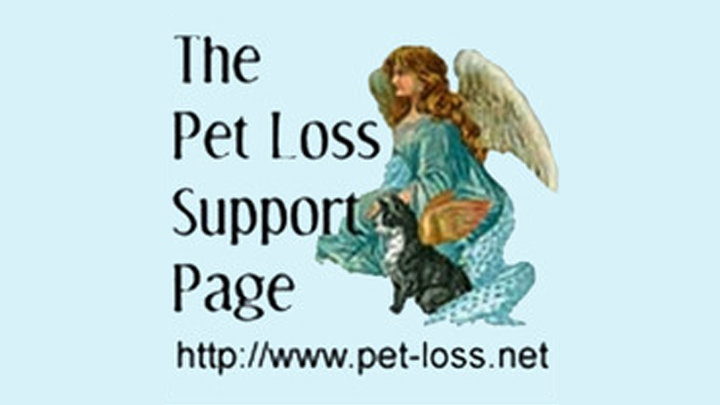 The Pet Loss Support Page for VCA Cottage Animal Hospital