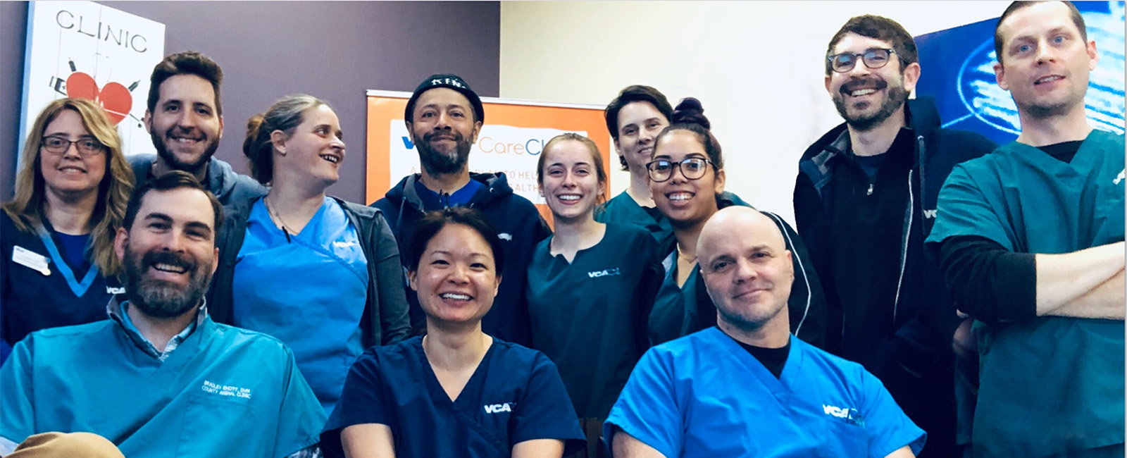 Homepage Team Picture of VCA County Animal Clinic