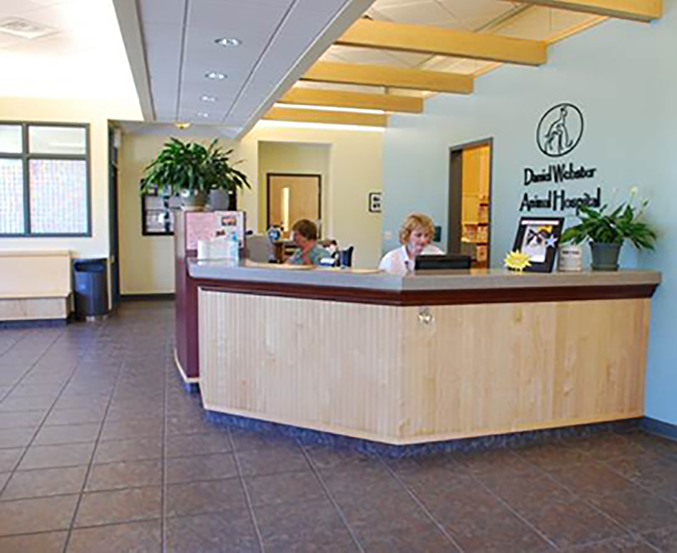 Lobby photo of VCA Daniel Webster Animal Hospital