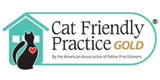 Cat Friendly Practice - Gold logo