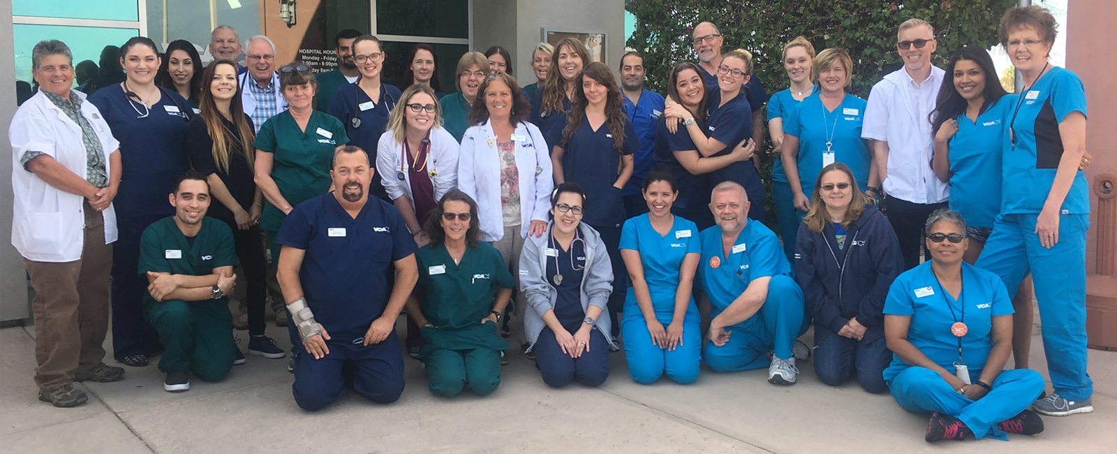 Team Picture of VCA Desert Animal Hospital