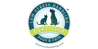 Low-Stress Handling Certified logo