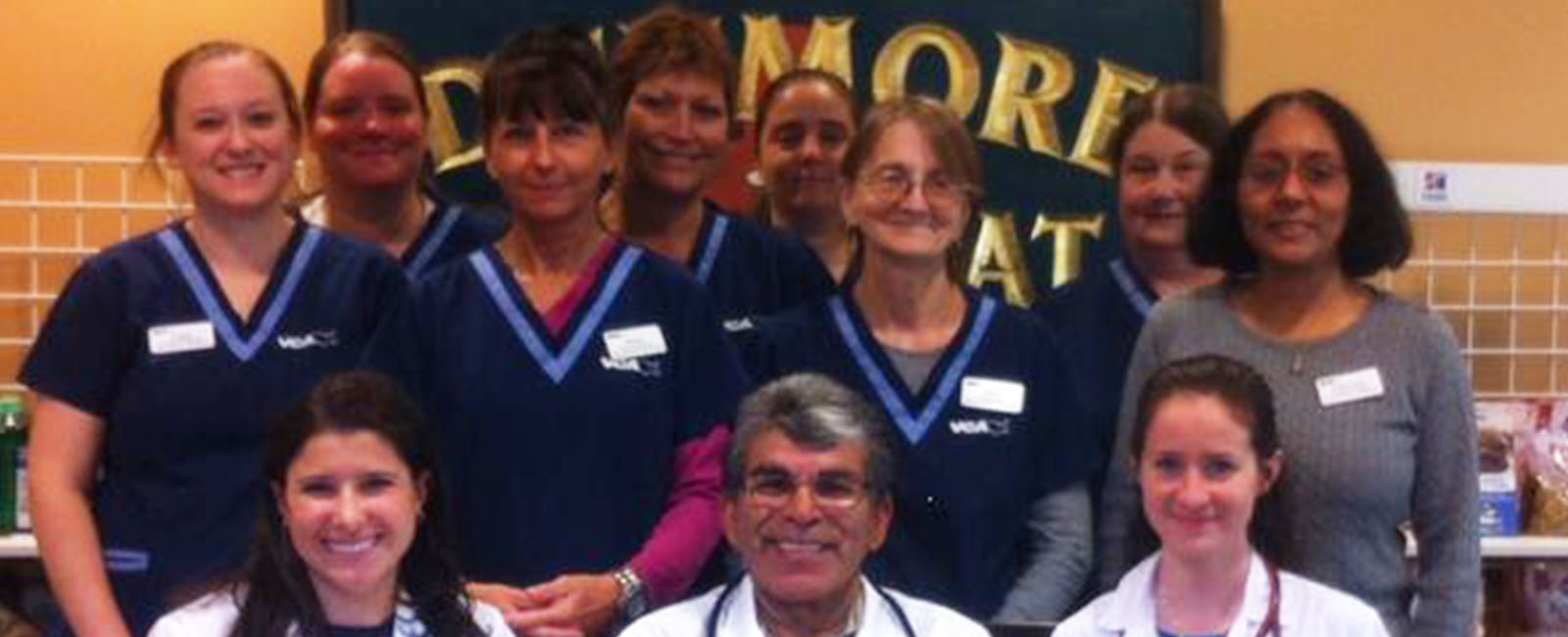 Homepage Team Picture of VCA Dunmore Animal Hospital