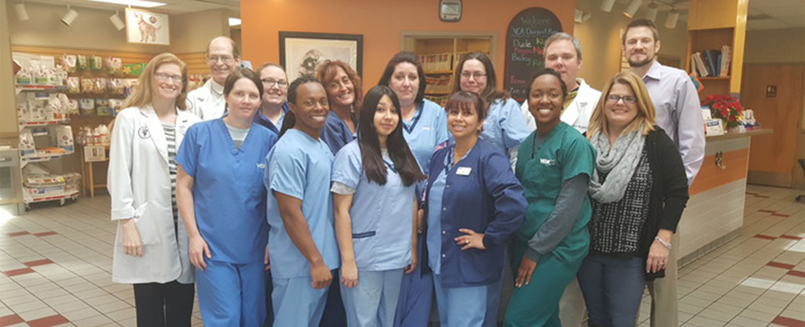 Homepage Team Picture of VCA Durant Road Animal Hospital