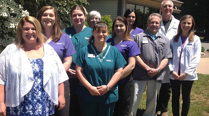 Homepage Team Picture of VCA East Hartford Animal Hospital