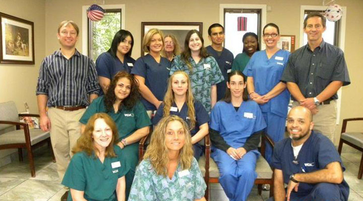 Homepage Team Picture of VCA Edgebrook Animal Hospital