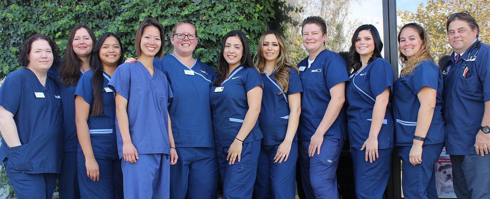 Homepage Team Picture of VCA El Rancho Animal Hospital