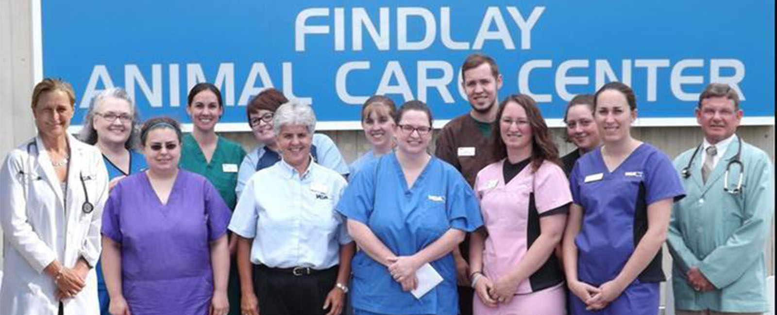Homepage Team Picture of VCA Findlay Animal Care Center
