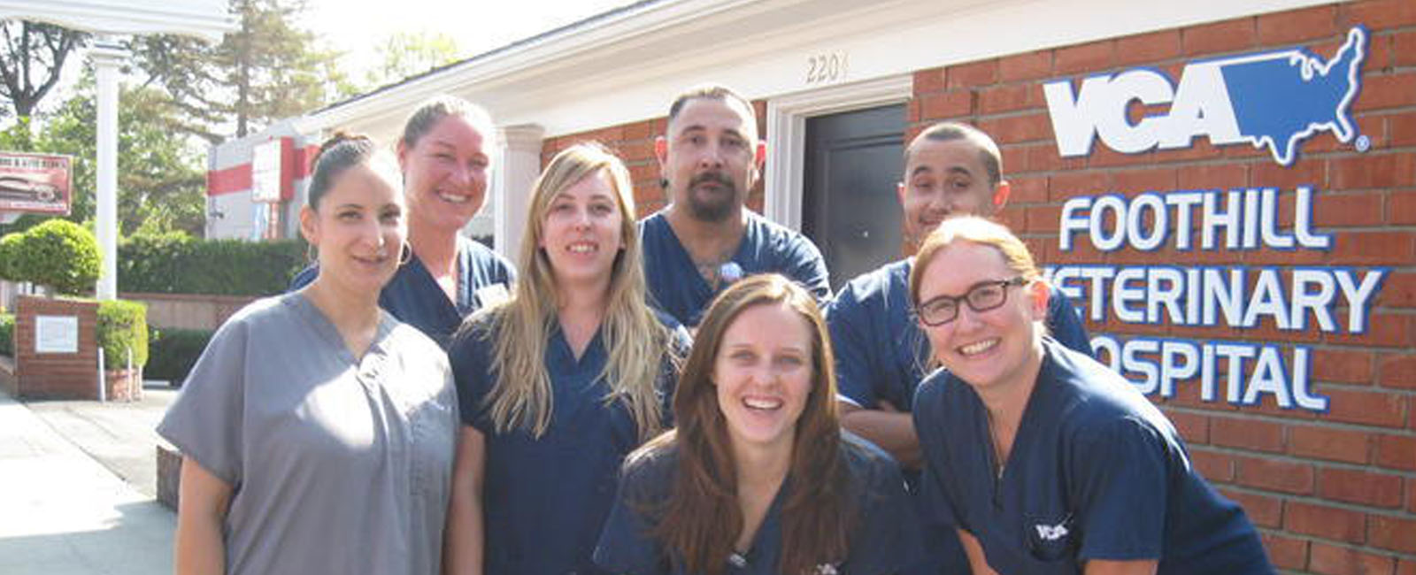 Homepage Team Picture of VCA Foothill Animal Hospital