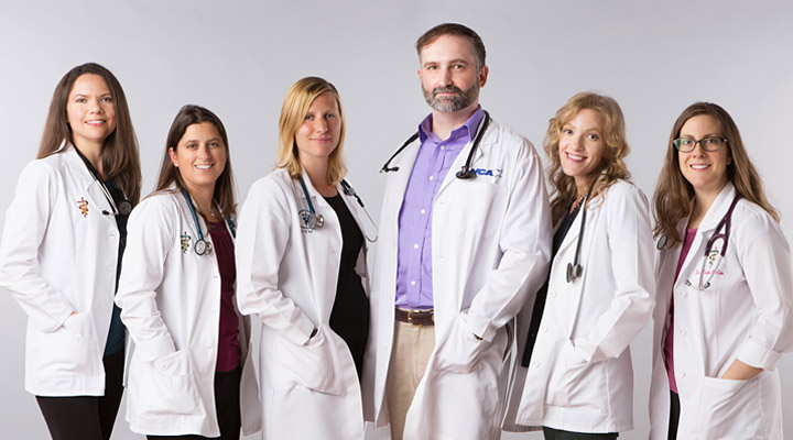 Homepage Team Picture of VCA Freehold Animal Hospital