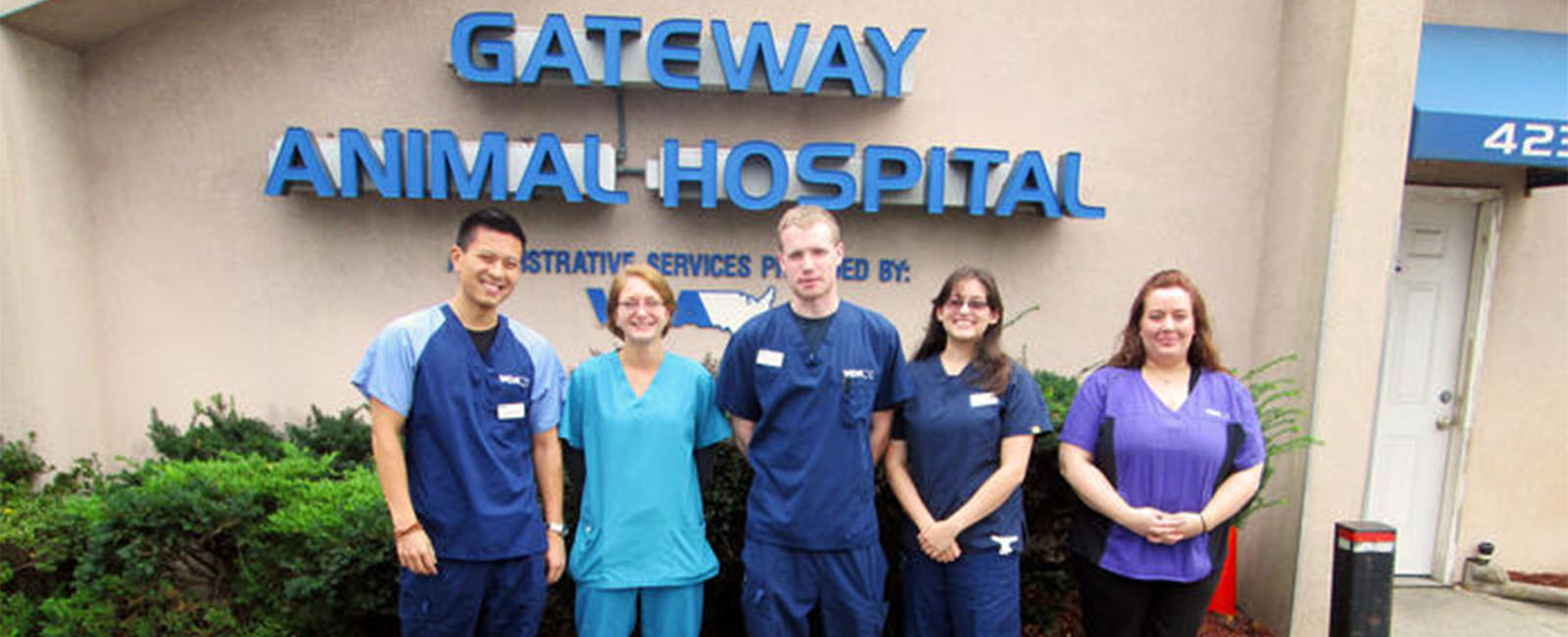 Homepage Team Picture of VCA Gateway Animal Hospital