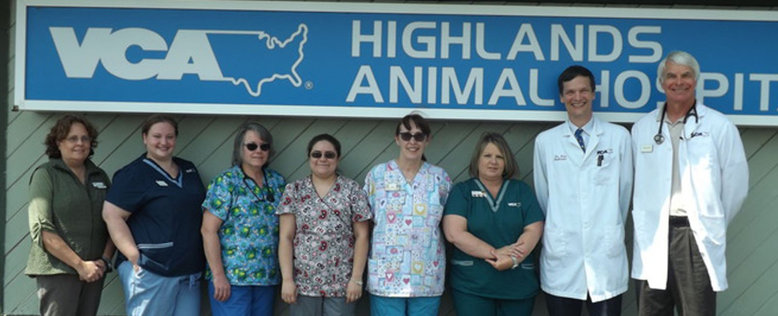 Homepage Team Picture of VCA Highlands Animal Hospital