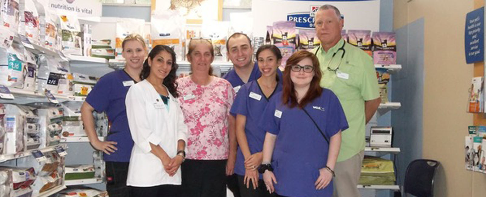 Homepage Team Picture of VCA Howell Branch Animal Hospital