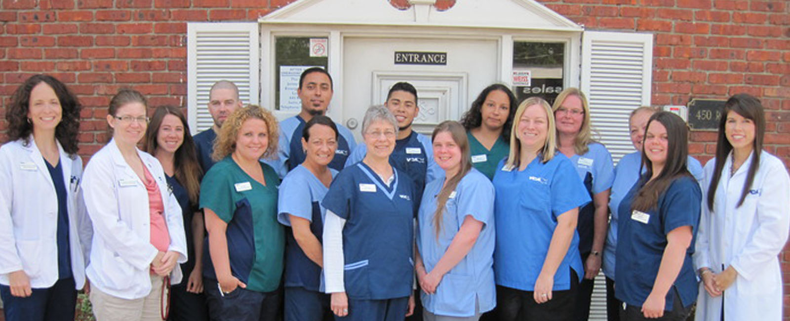 Homepage Team Picture of VCA Iselin Animal Hospital