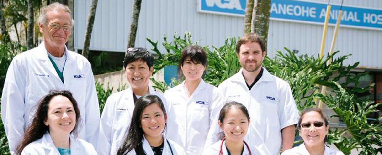 Homepage Team Picture of VCA Kaneohe Animal Hospital