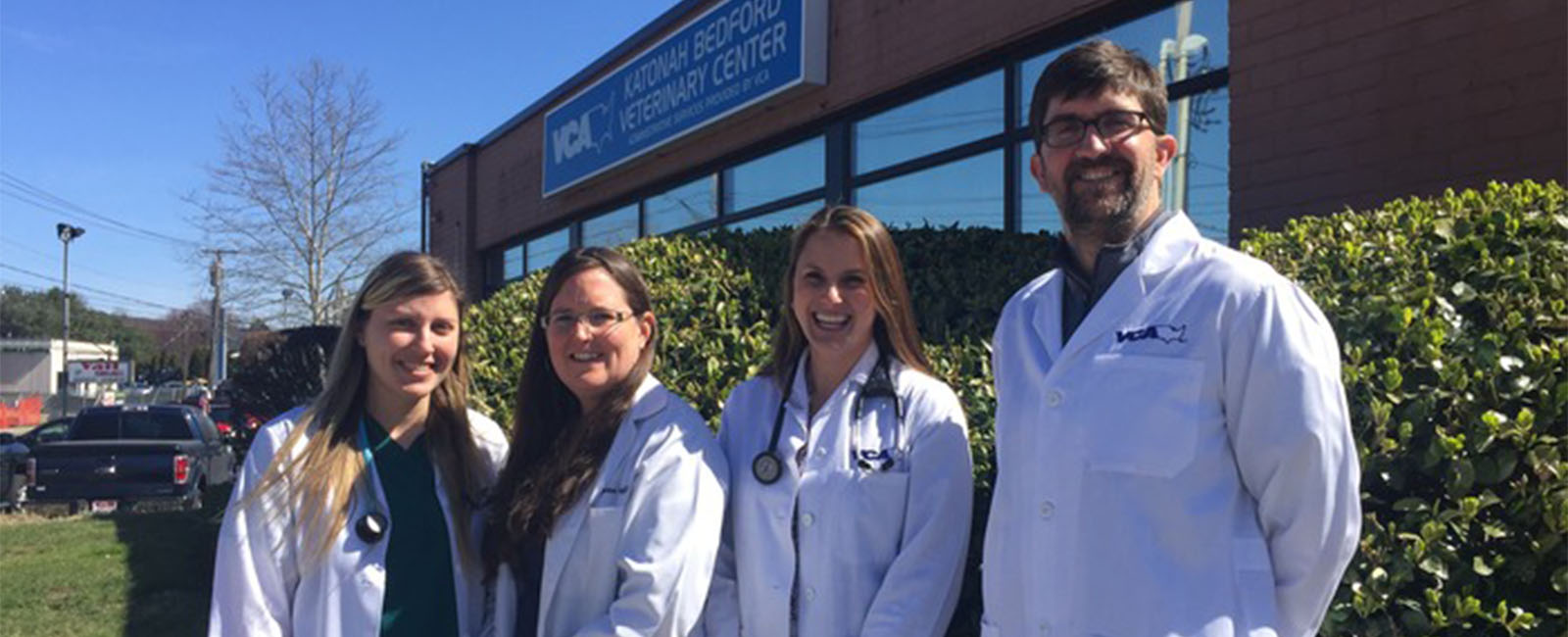 Homepage Team Picture of VCA Katonah Bedford Veterinary Center