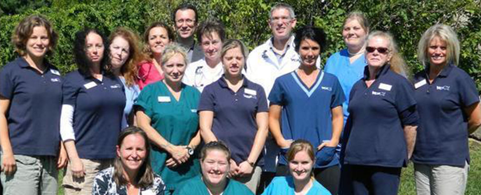 Homepage Team Picture of VCA Laconia Animal Hospital