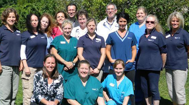 Team Picture of VCA Laconia Animal Hospital