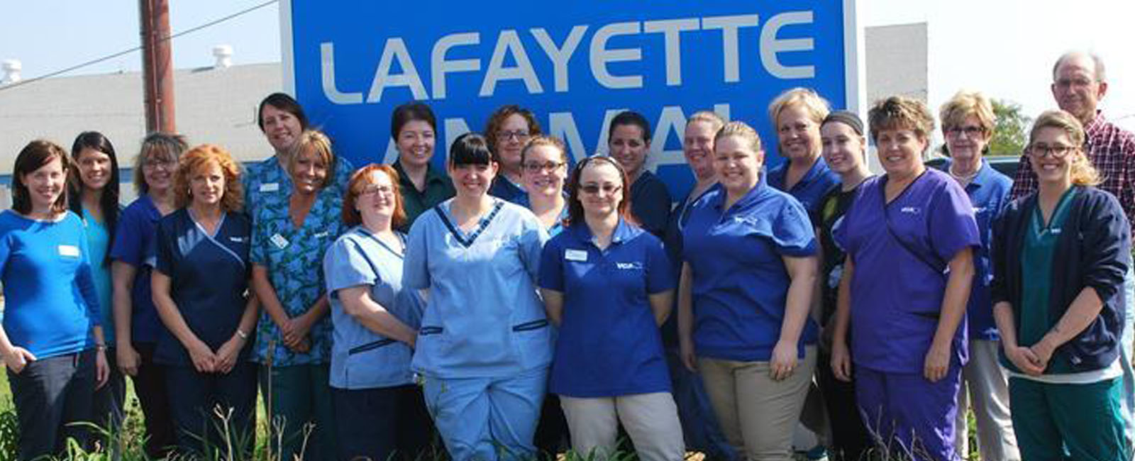 Homepage Team Picture of VCA Lafayette Animal Hospital