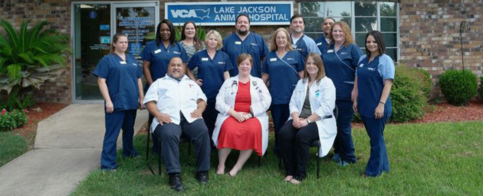 Homepage Team Picture of VCA Lake Jackson Animal Hospital