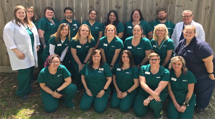 Homepage Team Picture of VCA Lakeside Animal Hospital