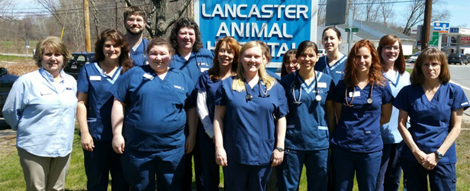 Homepage Team Picture of VCA Lancaster Animal Hospital
