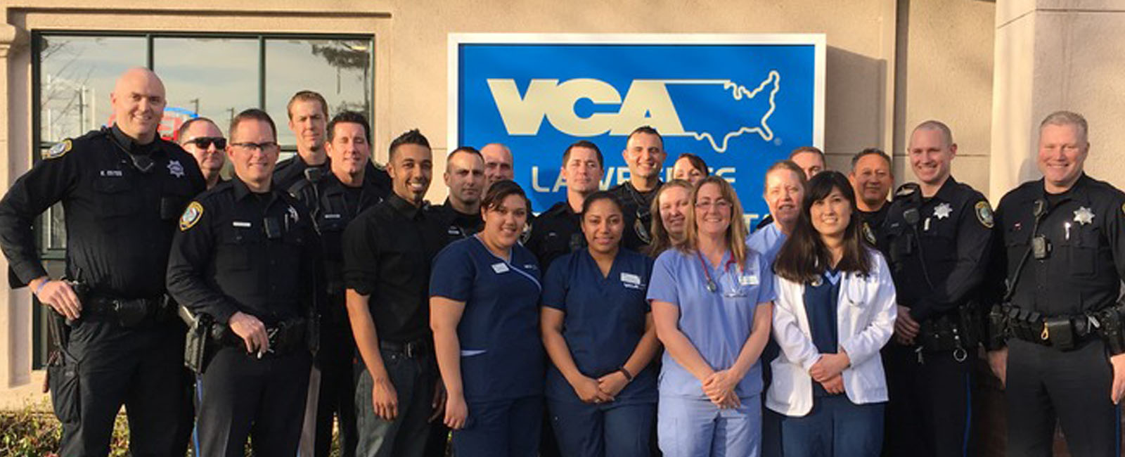 Homepage Team Picture of VCA Lawrence Animal Hospital