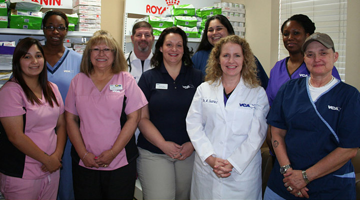 Homepage Team Picture of Love Field Animal Hospital