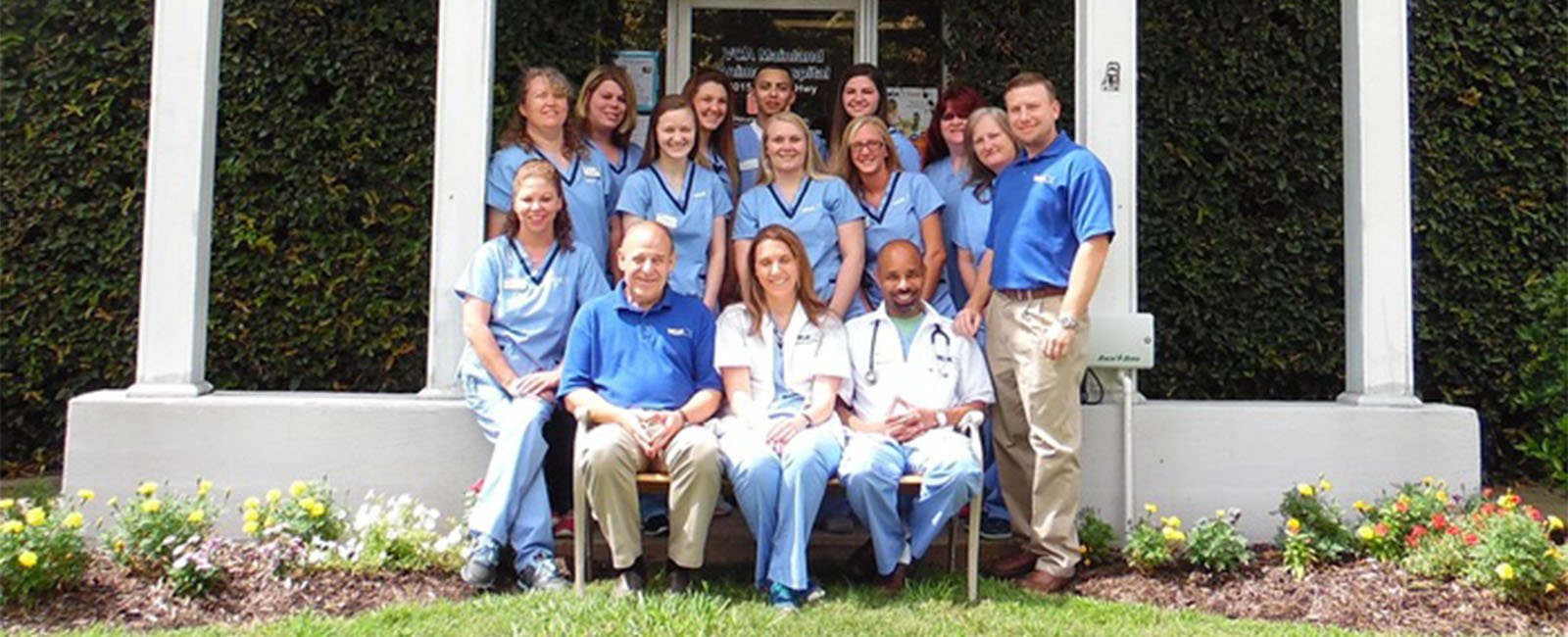 Homepage Team Picture of VCA Mainland Animal Hospital
