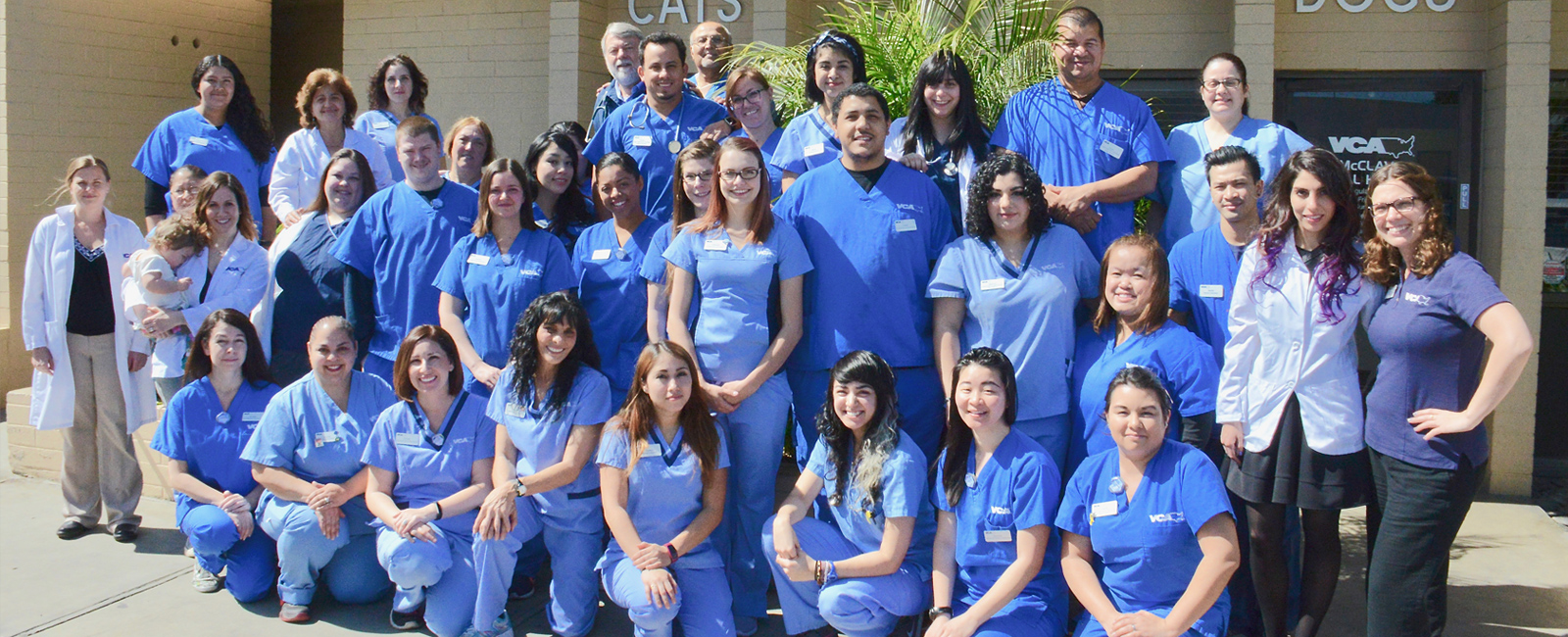 Team Picture of VCA McClave Animal Hospital